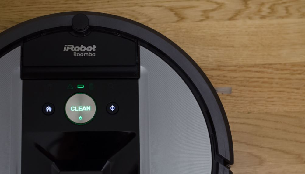 roomba 860 cleaning